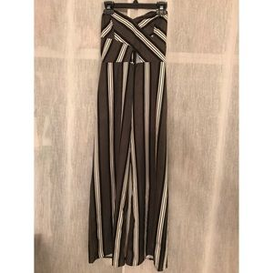 Fashionnova Striped Jumpsuit